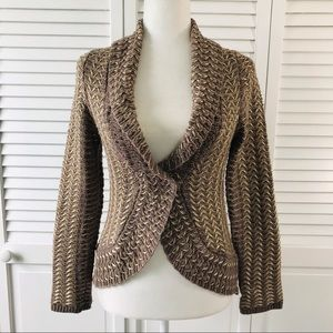 ANTHROPOLOGIE Charlie & Robin Cardigan Size Small